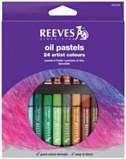 Oil Pastels 24 Artist Colours