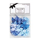 Ribbon Bows Pack of 20 - Blue