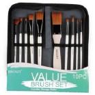 Value Brush Set 10 Pieces