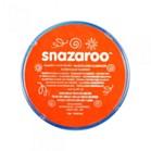 SNAZAROO FACE PAINT DARK ORANGE 18 ml