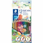Staedtler Wood Free Colouring Pencils 12 pack
