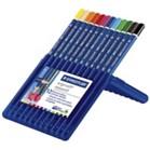 Ergo Soft Aquarell Watercolour Pencils Pack of 12