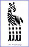 Stencil Giraffe