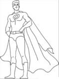 Superheroes Model Book