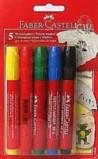 Textile Marker - Faber Castell  Set of 5