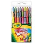 Crayons - Crayola Twistables pack of 24