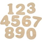 Wooden Number Pack of 20