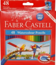 Watercolour Pencils Pack of 48