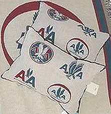 Pillow w/AA logos