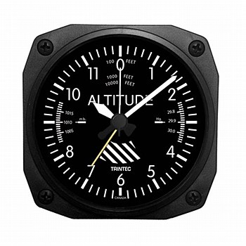 Altimeter Desk Clock/Alarm