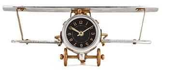 Biplane Table/Wall Clock