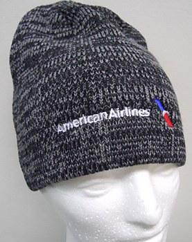 Black Heather Knit Cap
