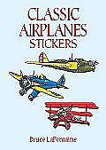 """Classic Airplanes Stickers"""