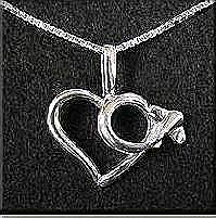 Heart Necklace Low Wing
