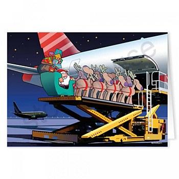 Holiday Card-Baggage Handling