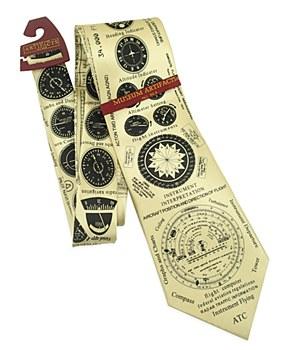 Instruments of Flight Necktie