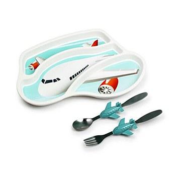Jet Plane Mealtime Set