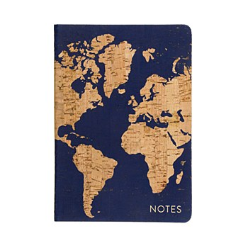 Navy/Cork Travel Journal