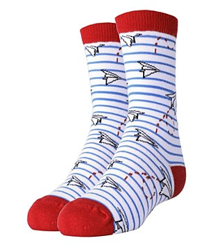 Paper Planes Socks- Youth
