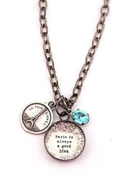 """""""Paris..."""" Charm Necklace"""
