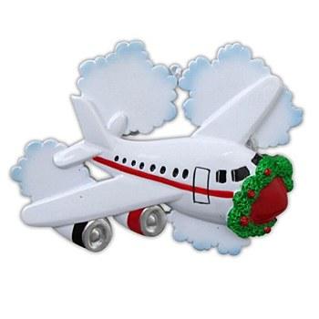 Plane & Clouds Ornament