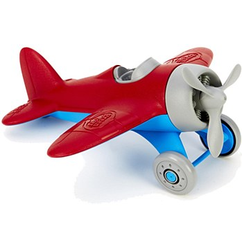Plane w/Spinning Propell RED