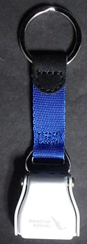 Seatbelt Buckle Keychain