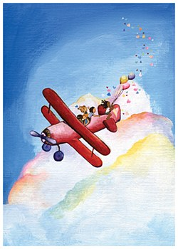"""""""Sky is the Limit"""" BDay Card"""