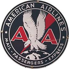 AA 30's Logo Magnet