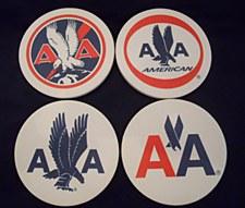 4 Logo Coaster Set