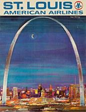 AA Vintage St Louis  11 x 14