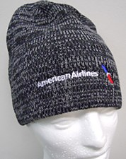 Black Heather Knit Cap