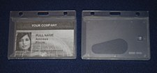 Clear ID Holder - Horizontal