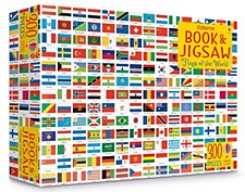Flags of World Puzzle & Book