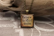 """Get Lost"" Necklace"