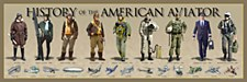 History of Am.Aviator Print