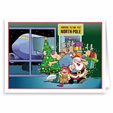 Holiday Card-Arrival Flt 432