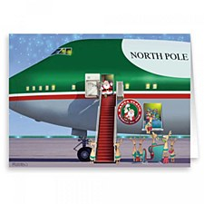 Holiday Card: Santa Claus One