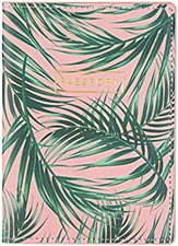 Palm Fronds Passport Cover