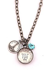 """Paris..."" Charm Necklace"