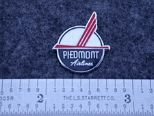 Piedmont 50's Logo  Lapel Pin
