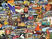 Road Trip USA Puzzle