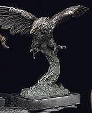 Soaring Bronze Eagle
