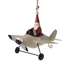 Tin Santa in Plane