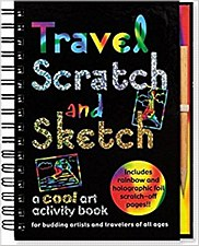 Travel Scratch & Sketch