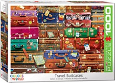 Travel Suitcases Puzzle