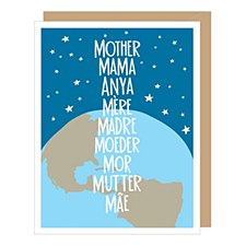 World of Moms Mothers Day Card