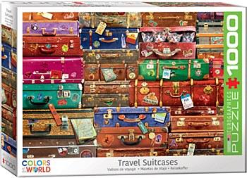 Travel Suitcases Puzzle