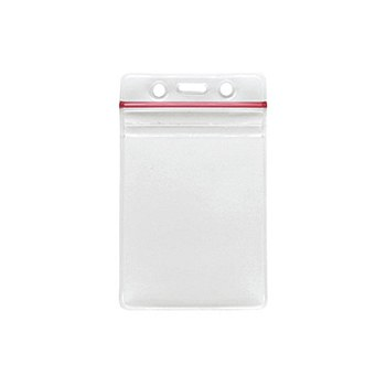 Vertical Sealable ID Holder