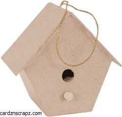 Papier Mache Birdhouse Singles
